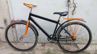 Ремонт велосипеда своими руками ч. 2(покраска) /Repair the bike with your hands h 1(В этой части описан процесс покраски велосипеда., 2015-10-25T06:56:30.000Z)