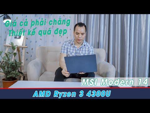 Đánh Giá Laptop MSI Modern 14 B4M 290VN Chiếc Laptop Đã Gây Loạn Phân Khúc Giá Bình Dân