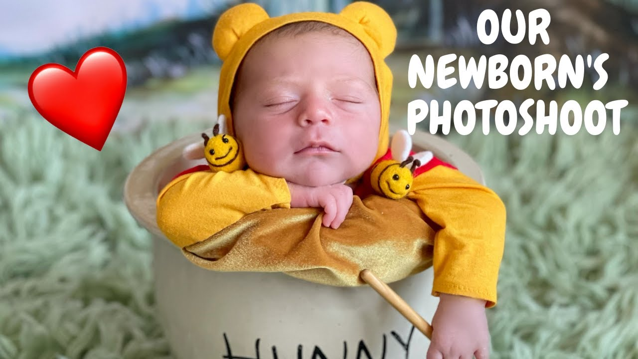 Our Disney Themed Newborn Photoshoot *So Adorable*