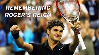 How Roger Federer won FIVE back-to-back US Open titles!