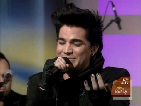 (HQ) Adam Lambert-Music Again (The Early Show)