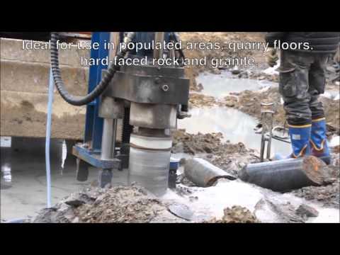 Hydraulic Core Drill For Rock & Concrete Drilling