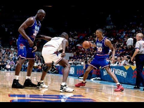 816937b3 1994 NBA All Star Game - Minneapolis - YouTube