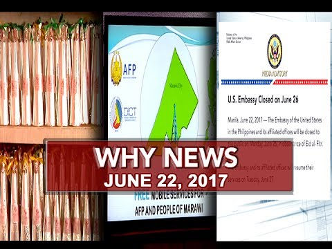 Why News (June 22, 2017)