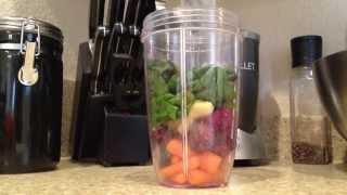 Delicious! Nutribullet Nutri Blast Breakfast Fruit Smoothie #2 Nutri Bullet At Home!