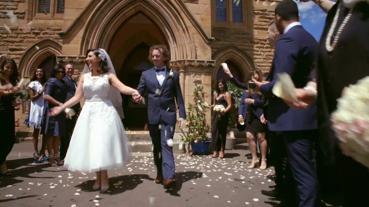 Simon and Alene's wedding: Married at First Sight Australia 2017