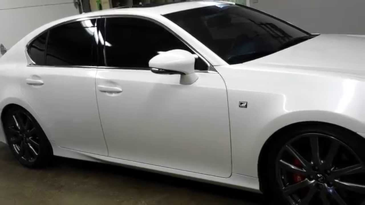 13 AWD Lexus GS 350 F Sport Full Invidia Exhaust YouTube