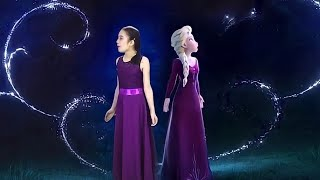 INTO THE UNKNOWN - FROZEN 2 in REAL LIFE ★ Idina Menzel & Aurora COVER by Lele
