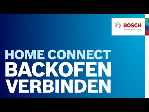bosch backofen mit home connect funktion verbinden youtube. Black Bedroom Furniture Sets. Home Design Ideas