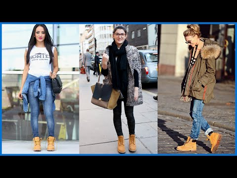 Ideas how to wear timberland boots for girl 56 Fashion Best