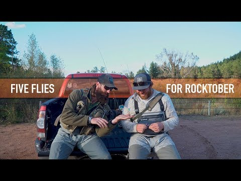 Trouts Fly Fishing: Five Flies for Rocktober featuring Charlie Blackmon