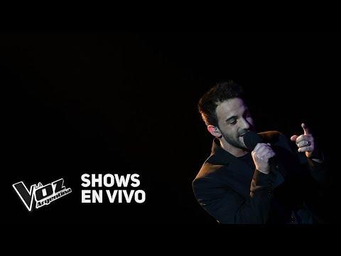 """Shows en vivo #TeamMontaner: Braulio canta """"Amiga mía"""" de Alejandro Sanz - La Voz Argentina 2018"""