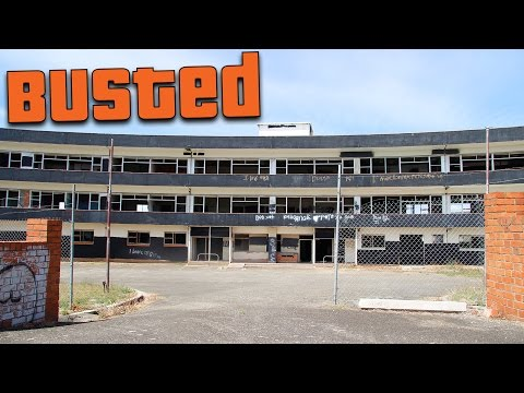 Abandoned: Devonport Maternity Hospital - CAUGHT BY POLICE!