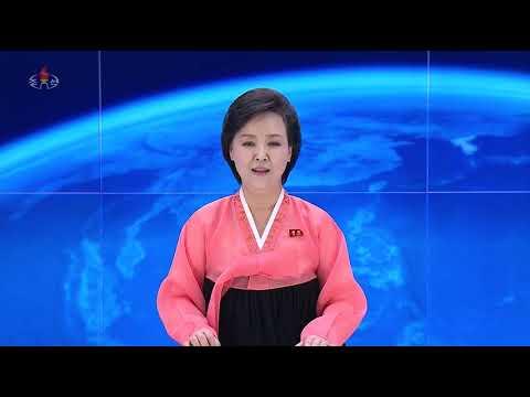 DPR Korea KCTV 4/15 20:00 news
