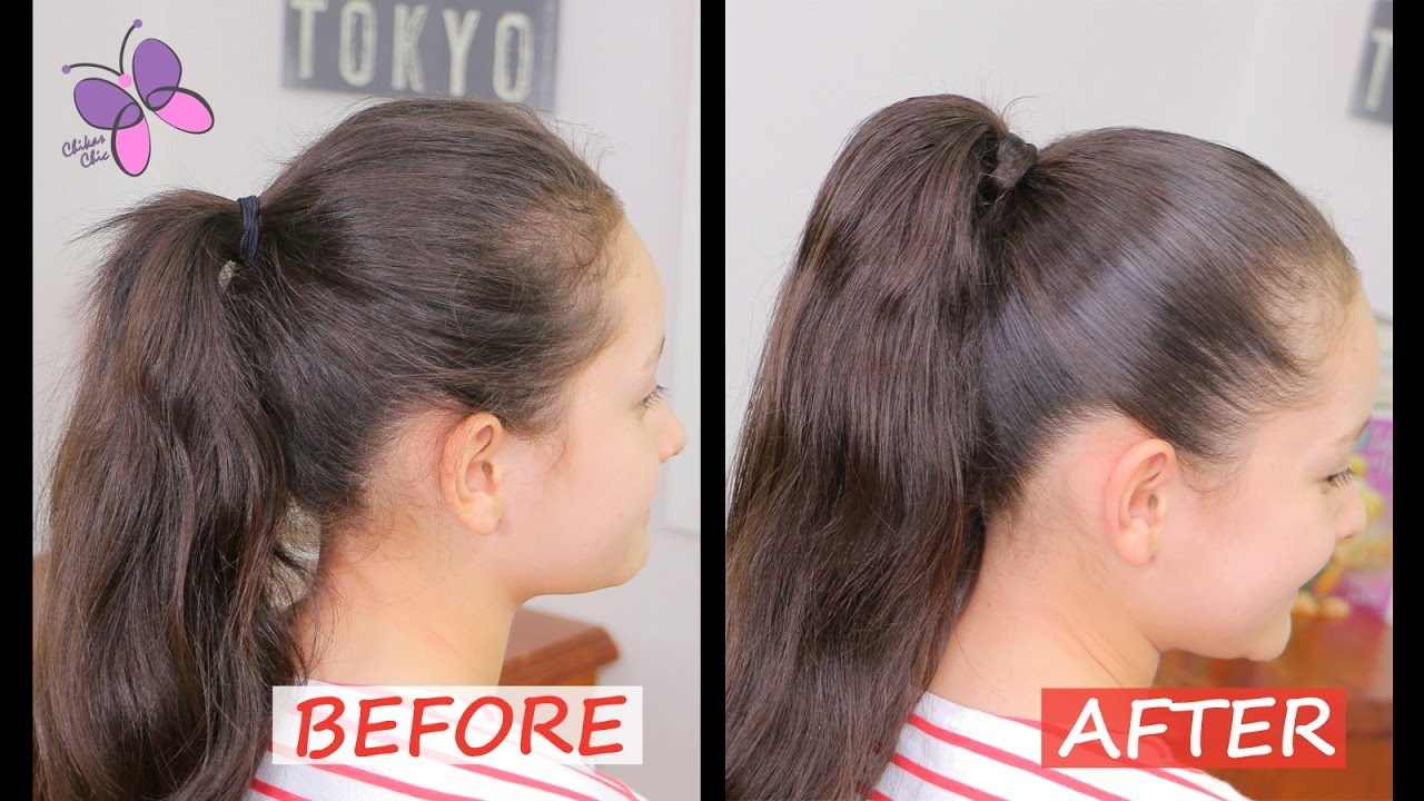 Quick Ponytail Hairstyles How To Do A Perfect Ponytail Quick And Easy Hairstyles Chikas