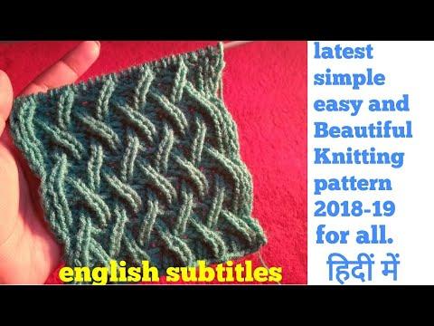 Best Beautiful Easy Knitting Patterns - Knittting Crochet