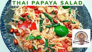 Thai Papaya Salad, Cara Nikmat Makan Pepaya Mentah