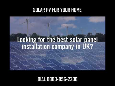 How to Install Solar PV Panel for Your UK Home?