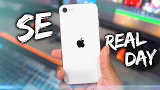 NEW iPhone SE (2020) -  REAL Day In the Life Review!