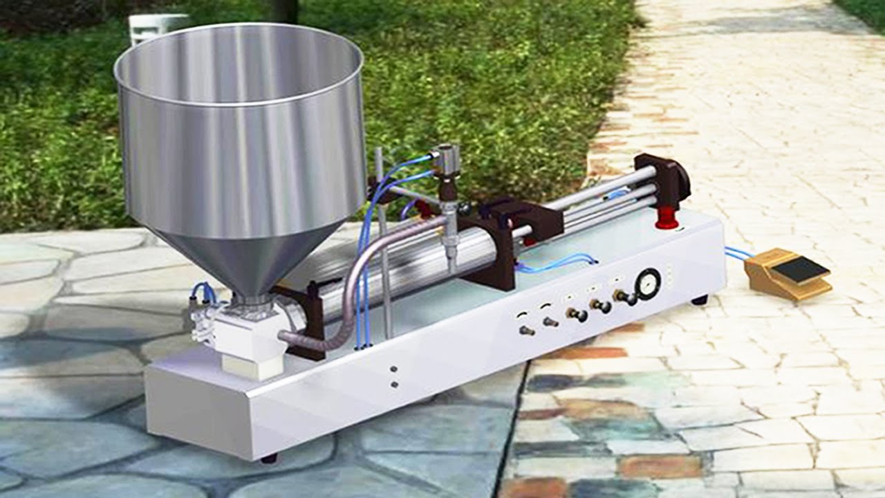 Semi Automatic Liquid Filling Machine, semi automatic bottle filling machine  Online at Best Price in India