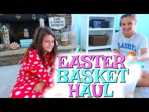 EASTER BASKET HAUL 2018! SCARY EMERGENCY AT THE BEACH!