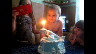 Торт-САМОЛЁТ для Димочки на 2 годика.