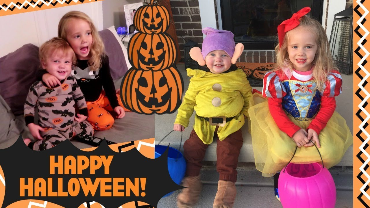 This is Halloween 2017! Snow White and Dopey Costumes!  sc 1 st  YouTube & This is Halloween 2017! Snow White and Dopey Costumes! - YouTube