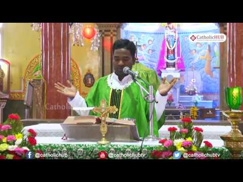 English Mass @ St. Mary's Basilica, Sec Bad, Ts, India 08-10-18