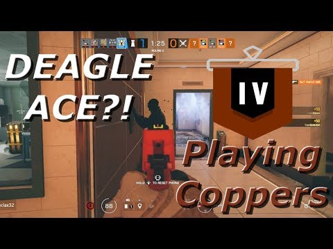 The Deagle Ace?! Road To Copper - Rainbow Six Siege Funny Moments