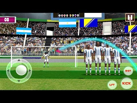 Football Strike World Free Flick League (by DragaTown Studio) Android Gameplay [HD] - 동영상