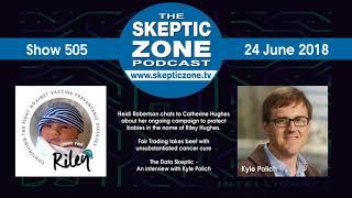 The Skeptic Zone #505 - 24.June.2018