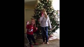 Presley & Faith singing Wish you a Merry Christmas Thumbnail