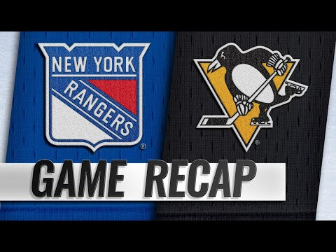 Malkin, Letang lift Penguins past Rangers in 6-5 win