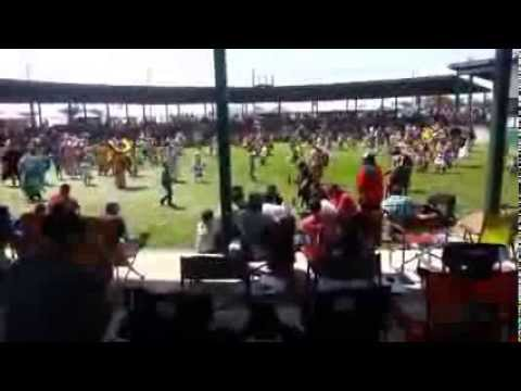 Authentic Indian Pow-Wow.  3 Affiliated Tribes, Fort Berthold Indian Reservation, North Dakota