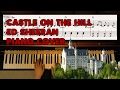 Castle On The Hill - Ed Sheeran - Piano Cover Video by YourPianoCover