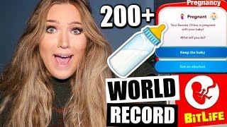 BITLIFE WORLD RECORD?? *MOST BABIES EVER*