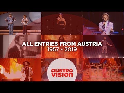 All entries from Austria 🇦🇹 (1957 - 2019) | Eurovision Song Contest
