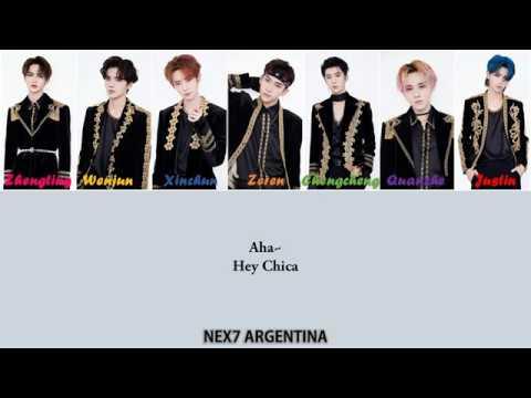 [SUB ESPAÑOL] 乐华七子NEXT (NEX7) - Attention (自由主义) Lyrics Color Coded (Spanish/Chinese/Pinyin)