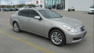 2008 Infiniti G35x Start up, Walkaround and Vehicle Tour