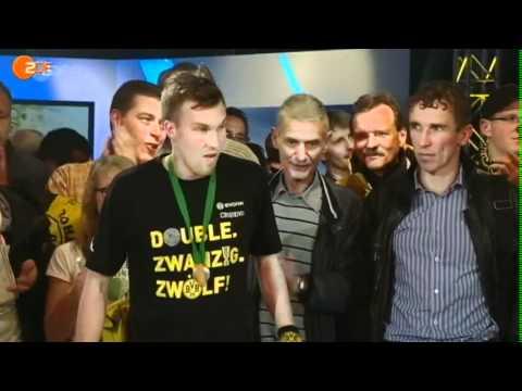 Torwand: Treffsichere Pokalsieger aus Dortmund