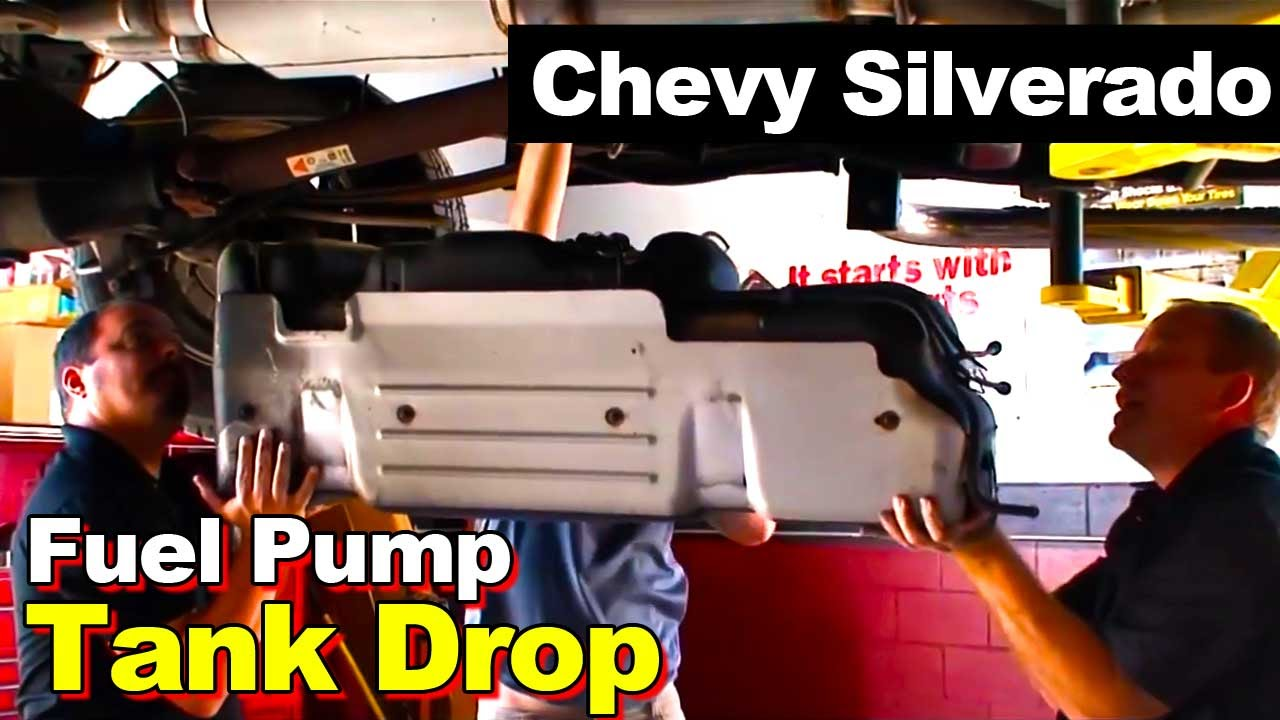 2001 Chevrolet Silverado Pickup Fuel Pump Module Sending Unit Youtube