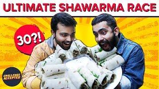 EPIC Shawarma Eating Challenge at India's First Shawarma Restaurant