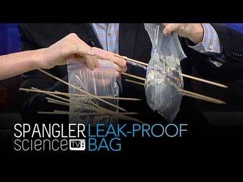 Leak-Proof Bag - Cool Science Experiment - YouTube