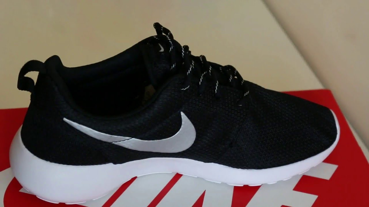 e8468275028d Nike Roshe Run Trainers Sneakers Unboxing 2016 - YouTube