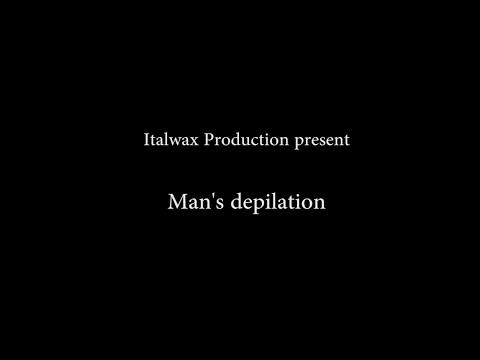 Waxen & Ontharen - 'man' -  Warme Film Wax - 'Italwax'