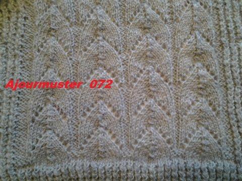 Muster  072*Stricken Lernen* Muster Für Pullover Strickjacke Mütze*Tutorial Handarbeit