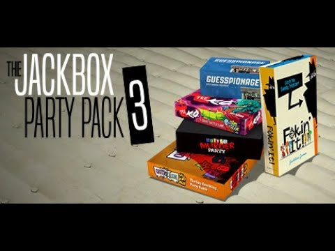 Jackbox Party Pack 3 Game Night! |