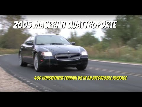 Maserati Quattroporte--Test Drive Video Review with Chris Moran