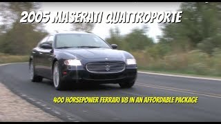 Maserati Quattroporte **SOLD** - Video Test Drive with Chris Moran - Supercar Network