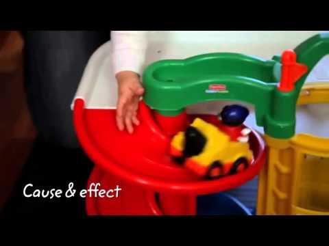 Fisher Price   World Of Little People   Racin` Ramps Garage
